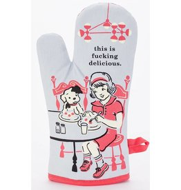 This is Fucking Delicious Oven Mitt DNR