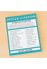 Knock Knock Office Citation- Nifty Notes