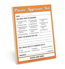 Knock Knock Passive Aggressive - Nifty Note
