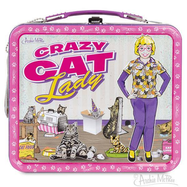 Lunchbox - Crazy Cat Lady