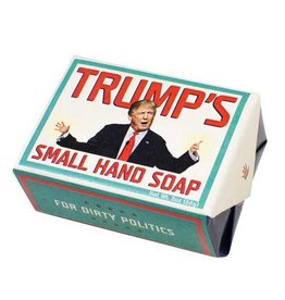 Unemployed Philosophers Guild Trump's Small Hand Soap- Think Clean Soaps