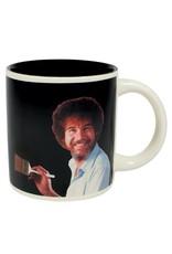 Unemployed Philosophers Guild Bob Ross Self Painting Heat Change Mug