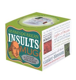 Unemployed Philosophers Guild Insults Shakespeare Mug