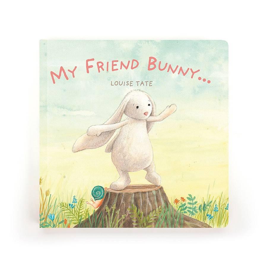JellyCat, Inc. My Friend Bunny - Book DNR