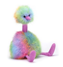 JellyCat, Inc. Pom Pom Bird Medium - Rainbow DNR