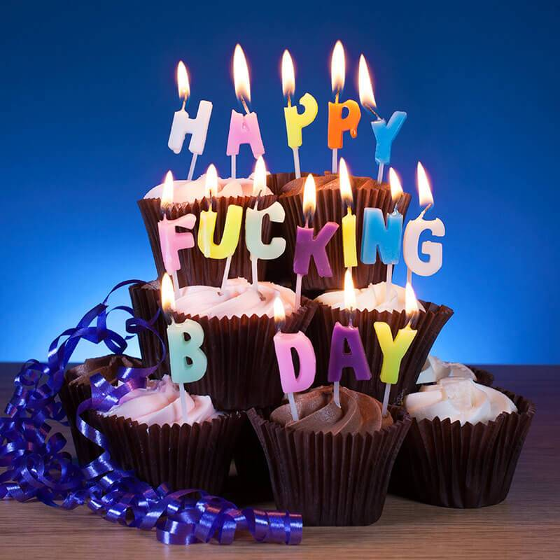 NPW Happy Fucking BDay - Who's Counting Candles