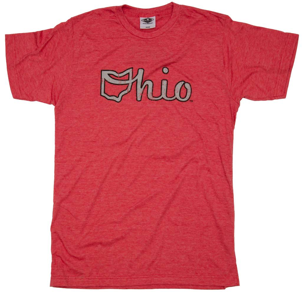 Red Ohio Script Unisex T-Shirt