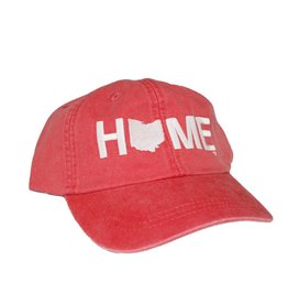 Home Cotton Twill Hat - Red DNR