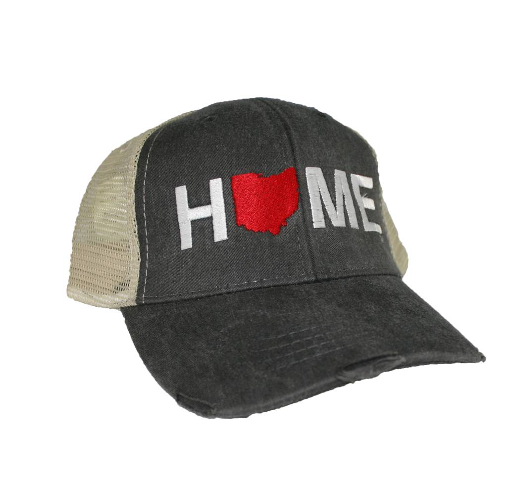Home Ohio Hat Tan/Charcoal Mesh