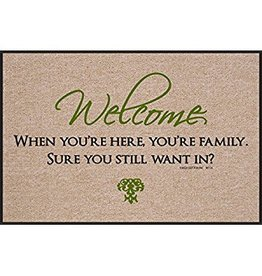 High Cotton* Welcome, When You're Here - Doormat DNR