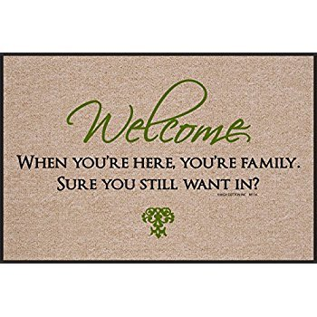 High Cotton* Welcome, When You're Here - Doormat