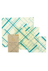 Bee's Wrap Geometric Print - Assorted Set of 3