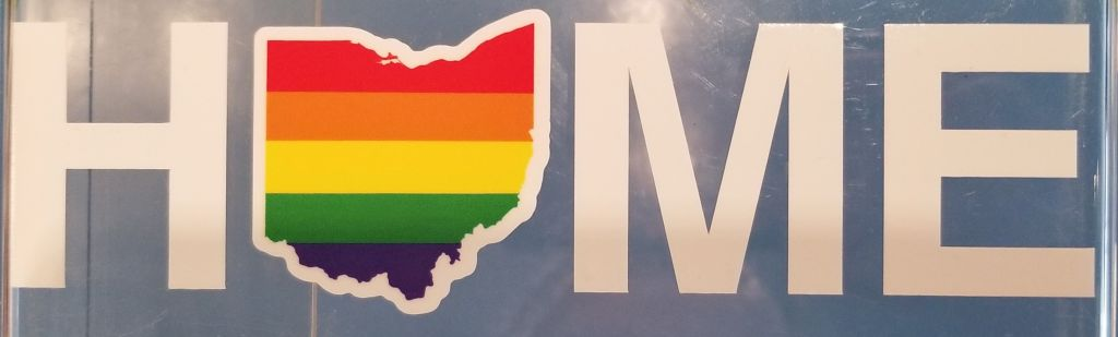 Rainbow Home Ohio Sticker