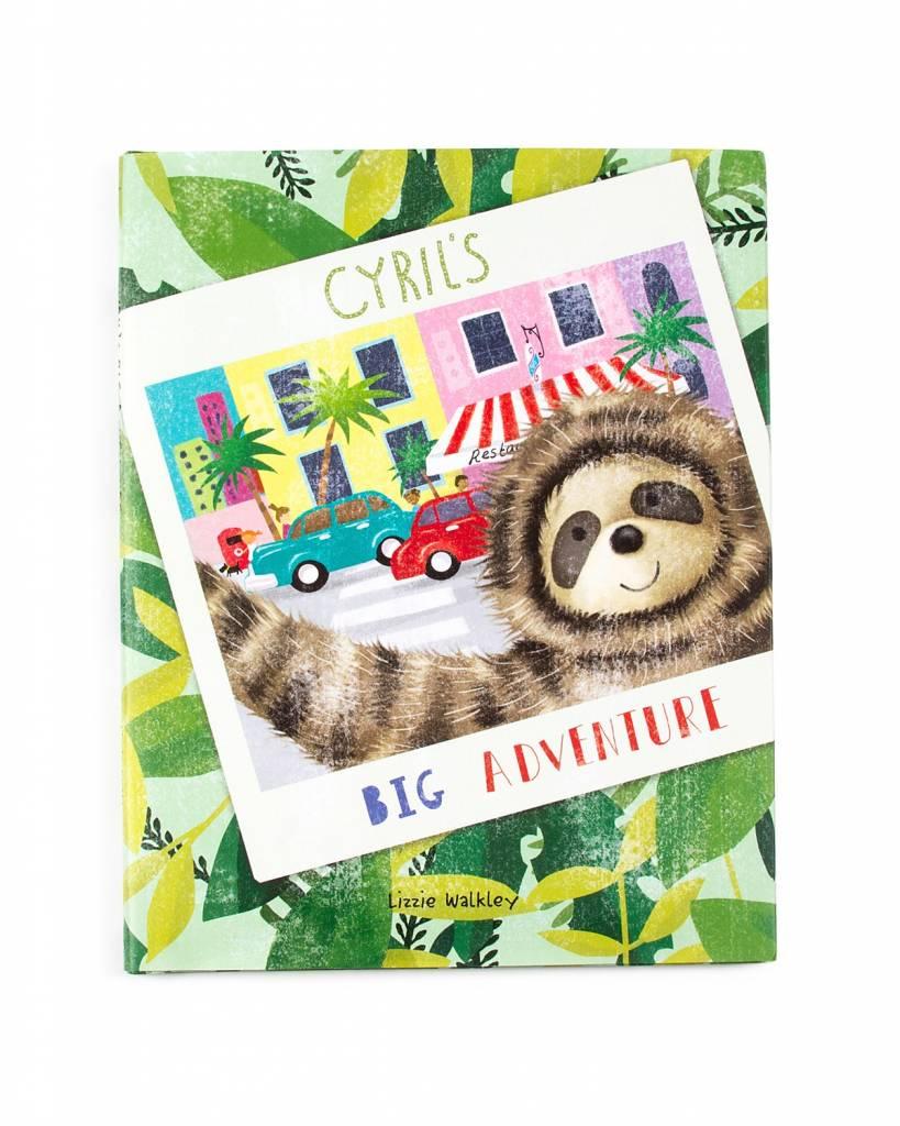 JellyCat, Inc. Cyril's Big Adventure Book DNR