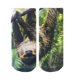 Living Royal Sloth Ankle Socks