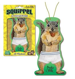 Squirrel In Underpants Air Freshener / s