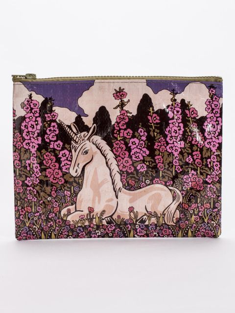 Unicorn Zipper Pouch DNR