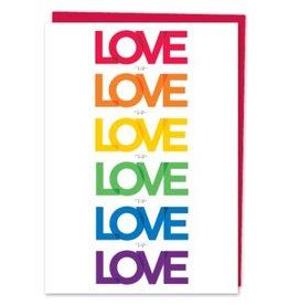 Design With Heart Love is Love is Love - Card Love DNR