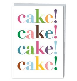 Design With Heart Cake x4 - Card Birthday DNR