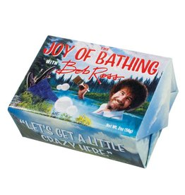 Unemployed Philosophers Guild The Joy of Bathing Bob Ross Soap