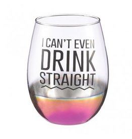 Grasslands Road Stemless Wine Glass Drink Straight !