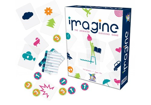 Gamewright Imagine, The Visual Charades Game