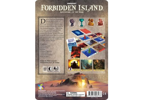 Gamewright Forbidden Island Tin *
