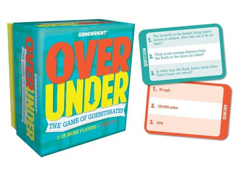 Gamewright Over/Under™ The Game of Guesstimates