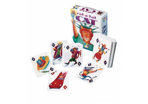 Gamewright Rat-a-Tat Cat Card Game
