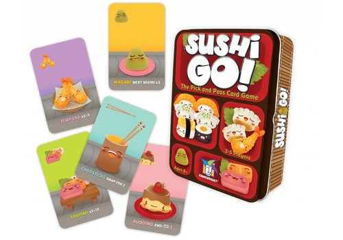 Gamewright Sushi Go! Game