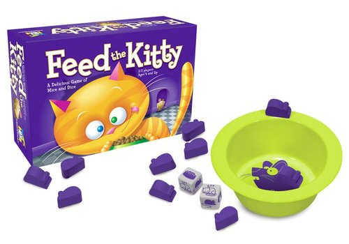 Gamewright Feed the Kitty Mice & Dice Game