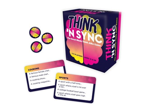 Gamewright Think n' Sync Game