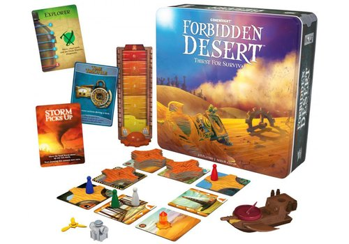 Gamewright Forbidden Desert Strategy Game