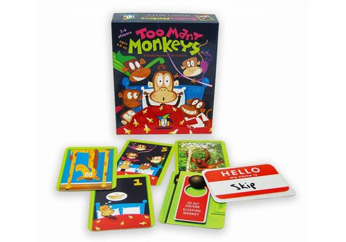 Gamewright Too Many Monkeys Card Game *