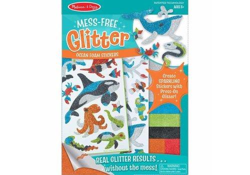 Melissa & Doug Ocean Foam Stickers Mess-Free Glitter