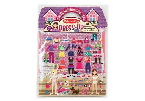 Melissa & Doug Dress-Up Reusable Puffy Sticker Play Set