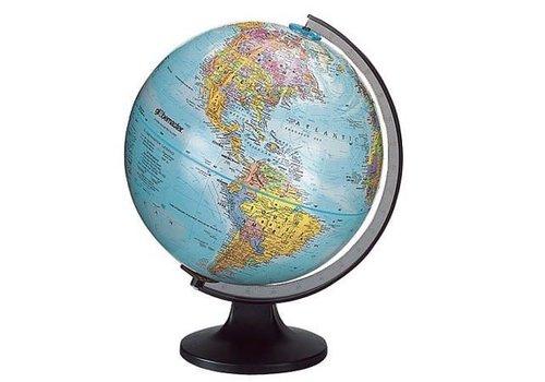 """REPLOGLE GLOBES Traveler Globe, plastic stand 12""""/30CM"""
