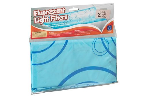 Educational Insights Fluorescent Light Filters (Patterned), Set of 2