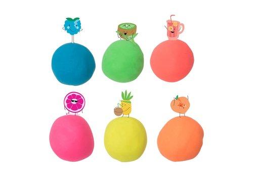 Tutti Frutti: Scented Modeling Dough- Pineapple Neon