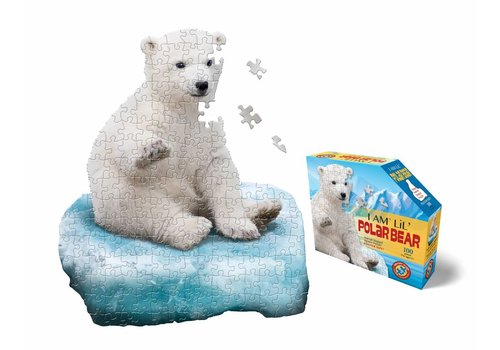 e11even I Am Lil' Polar Bear Shape Puzzle