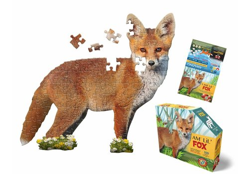 e11even I Am Lil' FOX Shape Puzzle