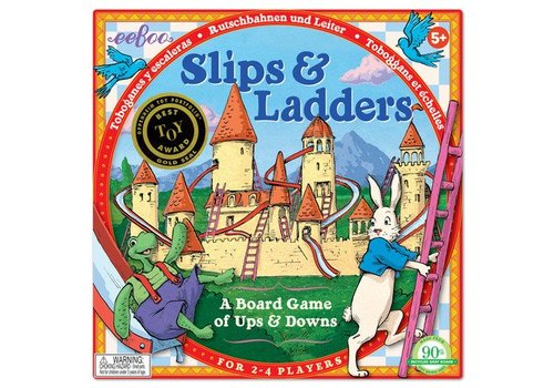 Eeboo Slips & Ladders Game