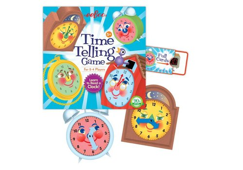 Eeboo Telling Time Game