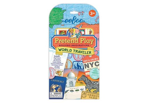 Eeboo World Traveler Pretend Play -  Building Imaginations
