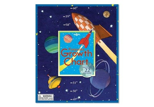 Eeboo Outer Space Growth Chart *