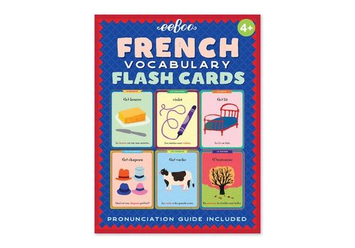Eeboo FRENCH FLASH CARDS