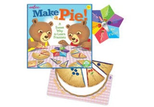 Eeboo Make A Pie Game- Fractions *