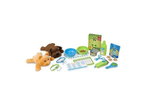 Melissa & Doug Feed & Grooming Pet Care Play Set