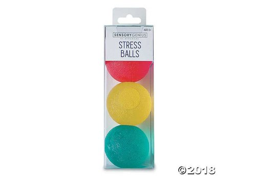 MindWare Stress Balls - Set of 3
