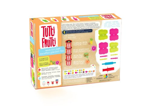 Tutti Frutti: Neon Ice Pops Set